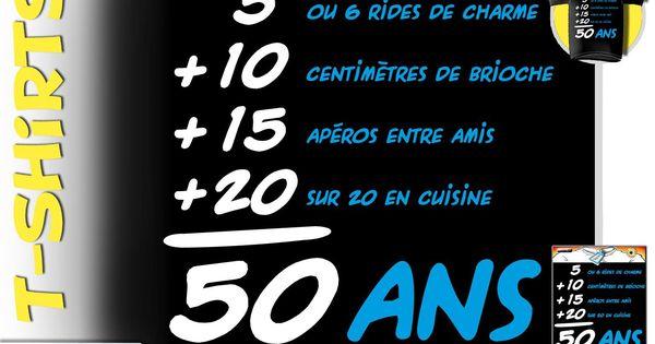 Carte invitation anniversaire 50 ans avec photo - Citation 60 ans humoristique ...