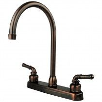 Bronze Rv Kitchen Sink Faucet Travel Trailer Camper 5th Wheel