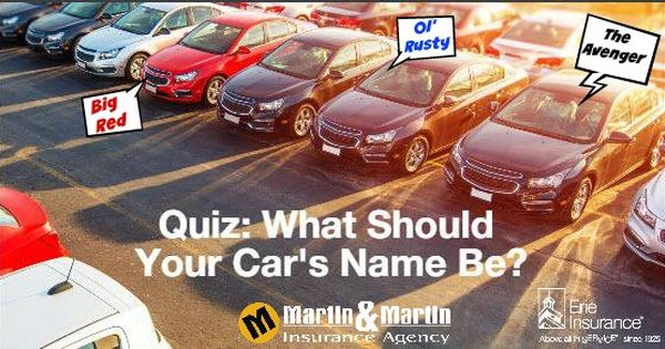 Haven T Found The Perfect Name For Your Car Just Yet Answer This