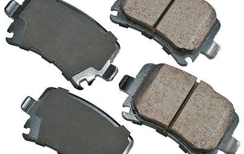Akebono Eur1348 Euro Ultra Premium Ceramic Brake Pad Set Ceramic Brakes Ceramic Brake Pads Brake Pads