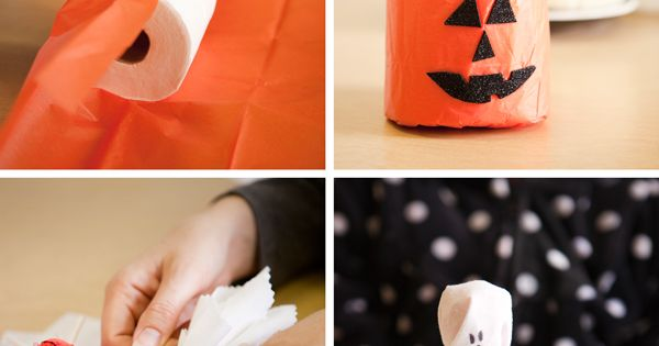 halloween craft collage - This one links directly to the post, no