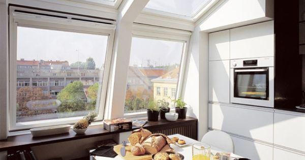 Elleboog dakramen dakramen voor mansarde dak of voor inbouw in gevel en dak dakramen zolder - Veranda met dakraam ...
