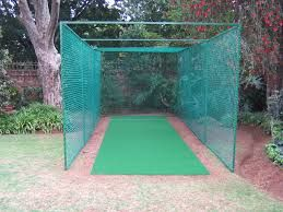 Metal Nets 2 Cricket Nets Outdoor Sports Court Backyard Fun