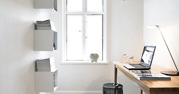 ~ Danish Interiors: Home Office Design Interiors Neutrals
