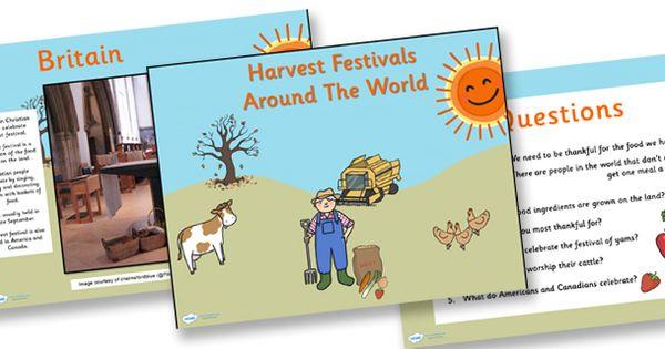 twinkl resources  harvest festivals around the world