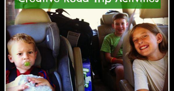 Creative Road Trip Activities by Kids Activities Blog