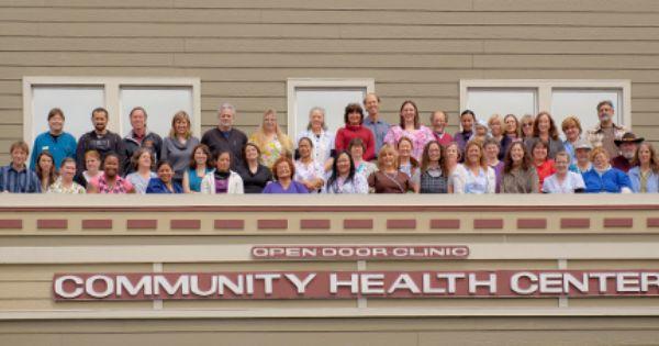Staff At Humboldt Open Door Arcata California Health Center Health Care Health