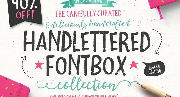 The Handlettered Fontbox by Nicky Laatz