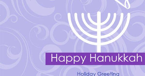 Happy Hanikkah Custom Holiday Greeting Cards Holiday Greetings Greeting Card Template Cards