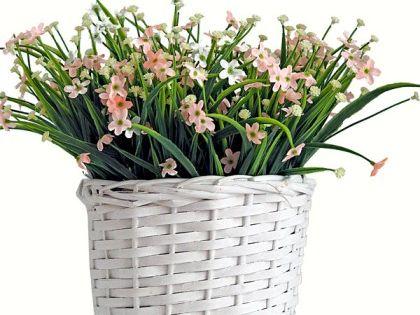 Oslonka Wiklinowa Kosz Na Kwiaty Ziola Bukiet 13cm 7182350016 Oficjalne Archiwum Allegro Wicker Laundry Basket Basket Laundry Basket
