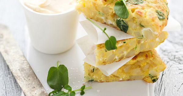 potato, parsnip and watercress Spanish tortilla | ≛ enjoy ...