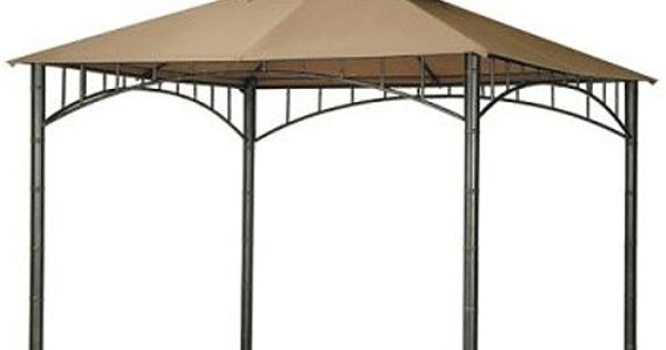 Target summer veranda replacement canopy for the home pinterest replacement canopy gazebo - Target shade canopy ...