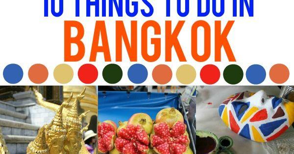 10 Things To Do In Bangkok thailand travelling asia bangkoktravel guiddoo wanderlust