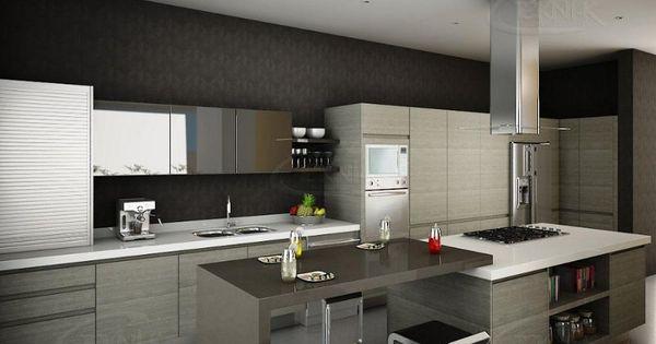 Muebles de cocina modernos si te gusta estar en la for Muebles de vanguardia