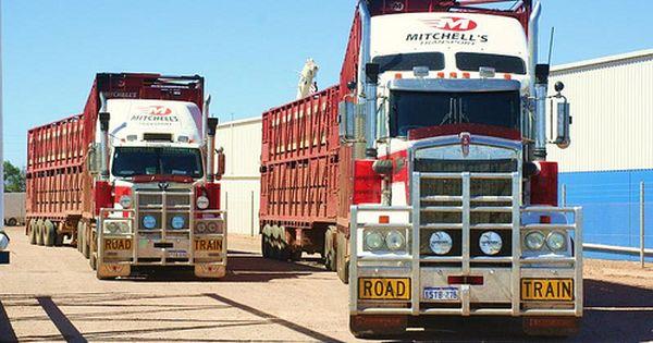 Kenworth Vs Western Star Truck Transport Road Train Kenworth Trucks