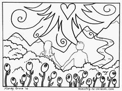 Adam And Eve Coloring Pages Free Printable Coloring Pages