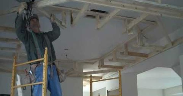 Home the o 39 jays and home renovation on pinterest for Dropped ceiling kitchen ideas
