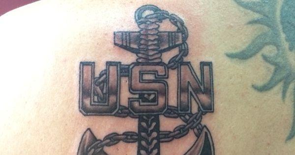 Us Navy Cpo Anchor Tattoo Navy Chief Navy Pride Navy