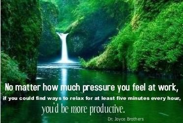 Relaxation Quote Beautiful Nature Wallpaper Waterfall Nature Wallpaper