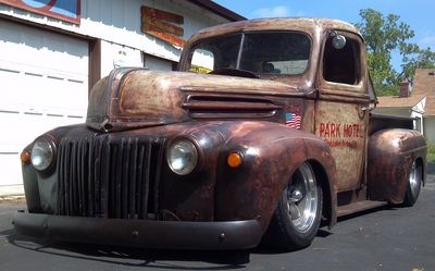 1947 Ford Rat Rod Pickup Truck Rat Rods Truck Rat Rod Pickup Trucks