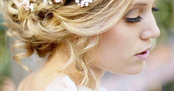Sleeping Beauty inspired bridal hair and makeup. See more at blog.hairandmakeu...