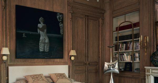 Le vrai chic parisien plus d 39 id es chambres int rieur for Interieur chic parisien