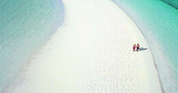 "Musha Cay, Bahamas It takes the meaning of ""a long walk on"