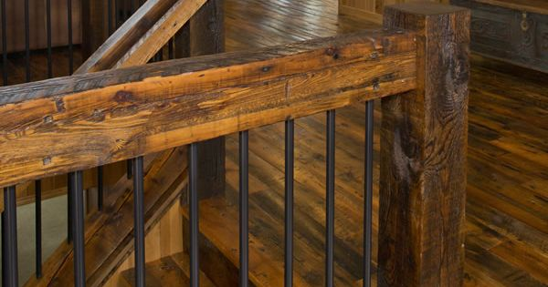 Best Log Railings Log Stairs Enterprise Wood Products 400 x 300