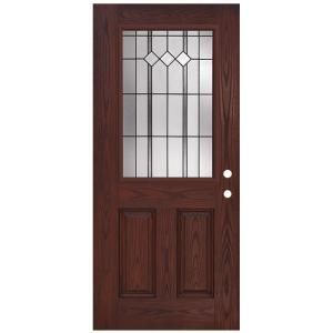 Jeld Wen 36 In X 80 In 12 Lite Primed Steel Prehung Left Hand Outswing Front Door Thdjw190900030 With Images Front Door Fiberglass Entry Doors Exterior Doors With Glass