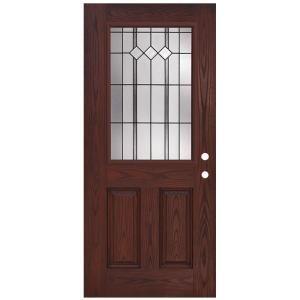 Jeld Wen 36 In X 80 In 12 Lite Primed Steel Prehung Left Hand Outswing Front Door Thdjw190900030 With Images Front Door Fiberglass Entry Doors Exterior Doors With Glass