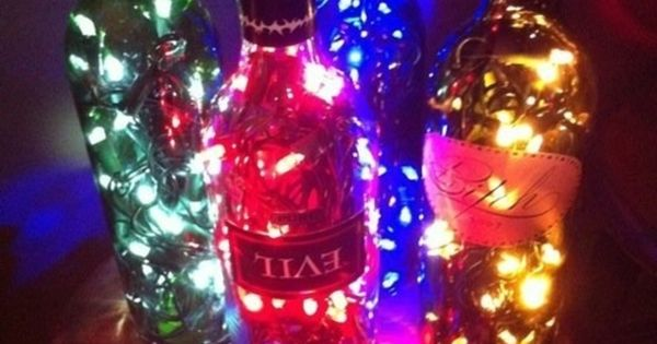 DIY - Party Wine Bottle Lighting
