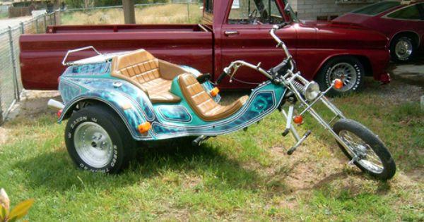 I Like The Trike The Pickup Trike Motorcycle Vw Trike Trike