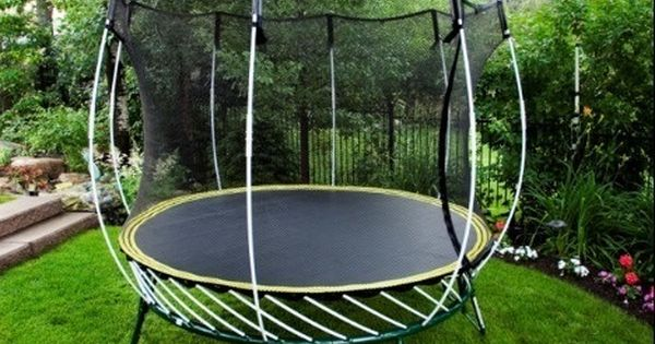 World S Safest Trampoline For Backyard Kids This Is The One To Buy Backyard Trampoline Outdoor Trampoline Outdoor Backyard