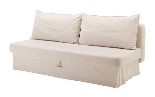 Himmene 3er Bettsofa Ikea L Sst Sich Leicht In Ein Bett Verwandeln Gr Umige Aufbewahrung Unter