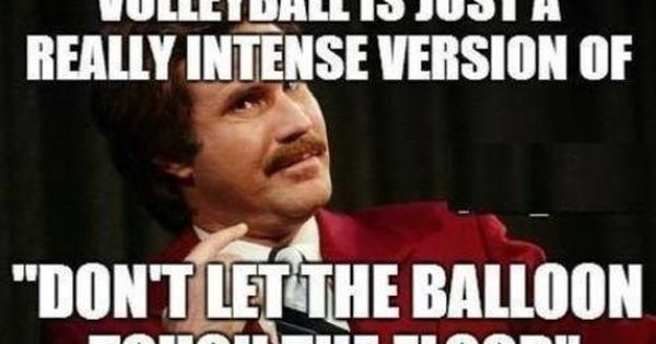 The truth about volleyball. Funny!