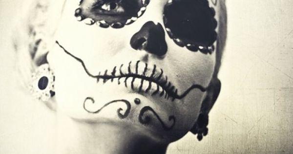 Halloween costume idea? Dia de los Muertos.