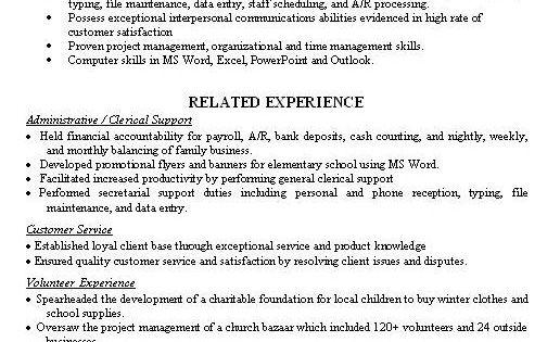 Cover Letter Sample, Sample Resume