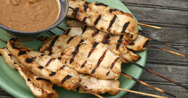 a recipe on making the chicken satay asian way Our chicken skewers are a simple way to bring asian flavours onto the appetizer menu chicken breast recipes chicken satay with peanut dipping sauce.