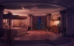 Princess S Room Night By Jakebowkett S Izobrazheniyami Pejzazhi