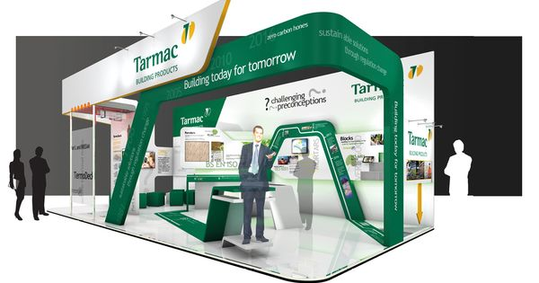 Exhibition Stand Builders Leicester : The design and build for ecobuild exhibition stand