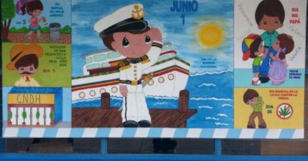 Peri dico mural mes de junio 7 peri dicos pinterest for El periodico mural y sus secciones