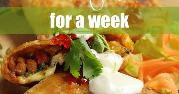 yours completely free cheap vegetarian meals for a week please
