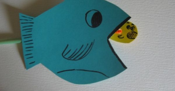 Ugly Fish craft....fun idea, but need cuter fish. straw, pipe cleaner, tape,