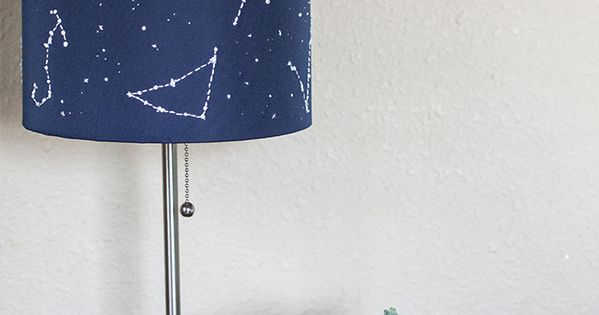 DIY Constellation Lamp - Transient Expression (done with glow in the dark