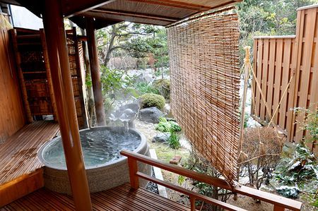 Lessons From The Japanese Bath Japanese Bath Outdoor Baths Hot Tub Outdoor