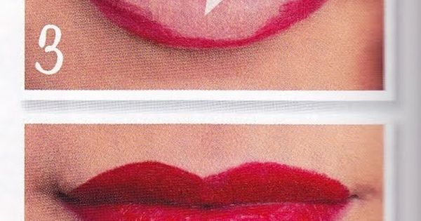 How to get the perfect RED lips! Deadly is the Female: 1950's
