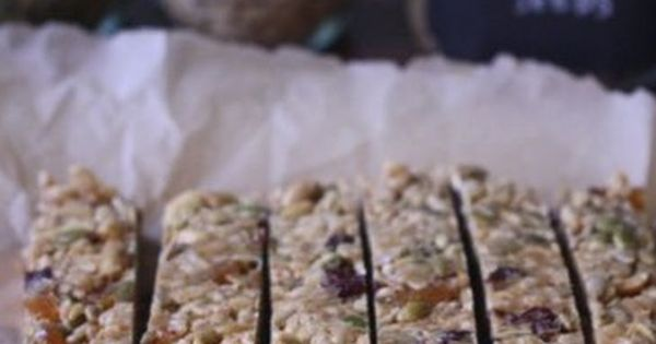 No-Bake Granola Bars, again, sub out the peanuts, and peanut butter ...