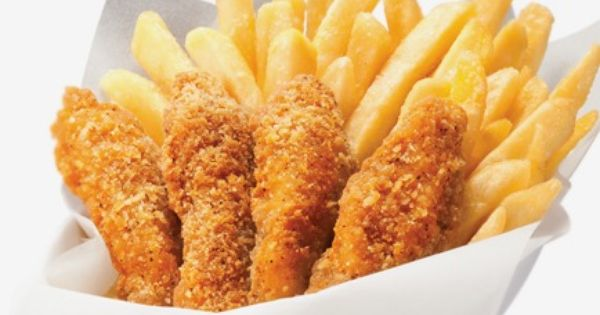 Pizza Hut Hong Kong Chicken Strips With Fries I Foods Food