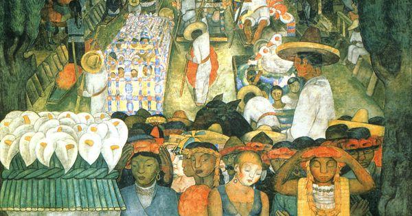 Diego Rivera Viernes De Lamentos En El Canal De Santa