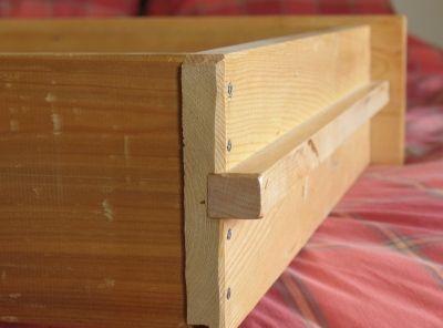 Wooden Drawer Slides Woodworking Pinterest Wooden